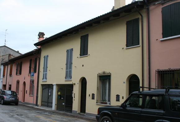 Ravenna, Via Vallona