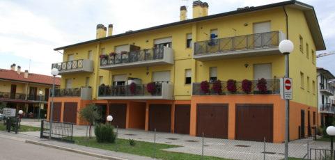 Barbiano di Cotignola 2 appartamenti in locazione finalizzata all'acquisto.